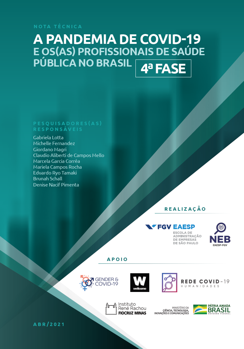 Eight out of ten Brazilian public health professionals report emotional exhaustion after a year of pandemic
