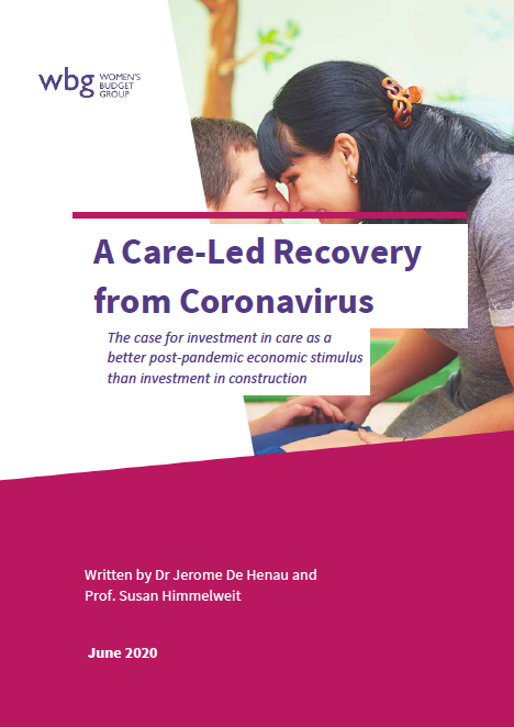 A care-led recovery from coronavirus