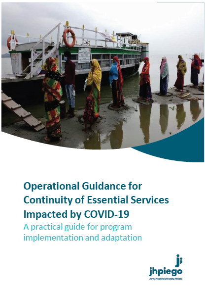 Operational guidance for continuity of essential services impacted by COVID-19