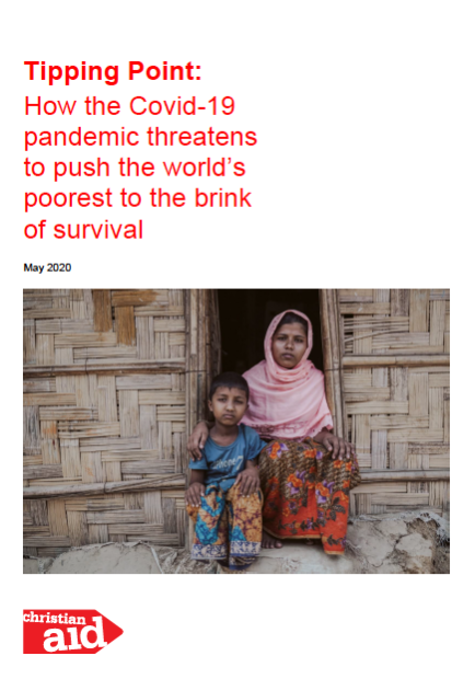 Tipping point- How the COVID-19 pandemic threatens to push the world's poorest to the brink of survival