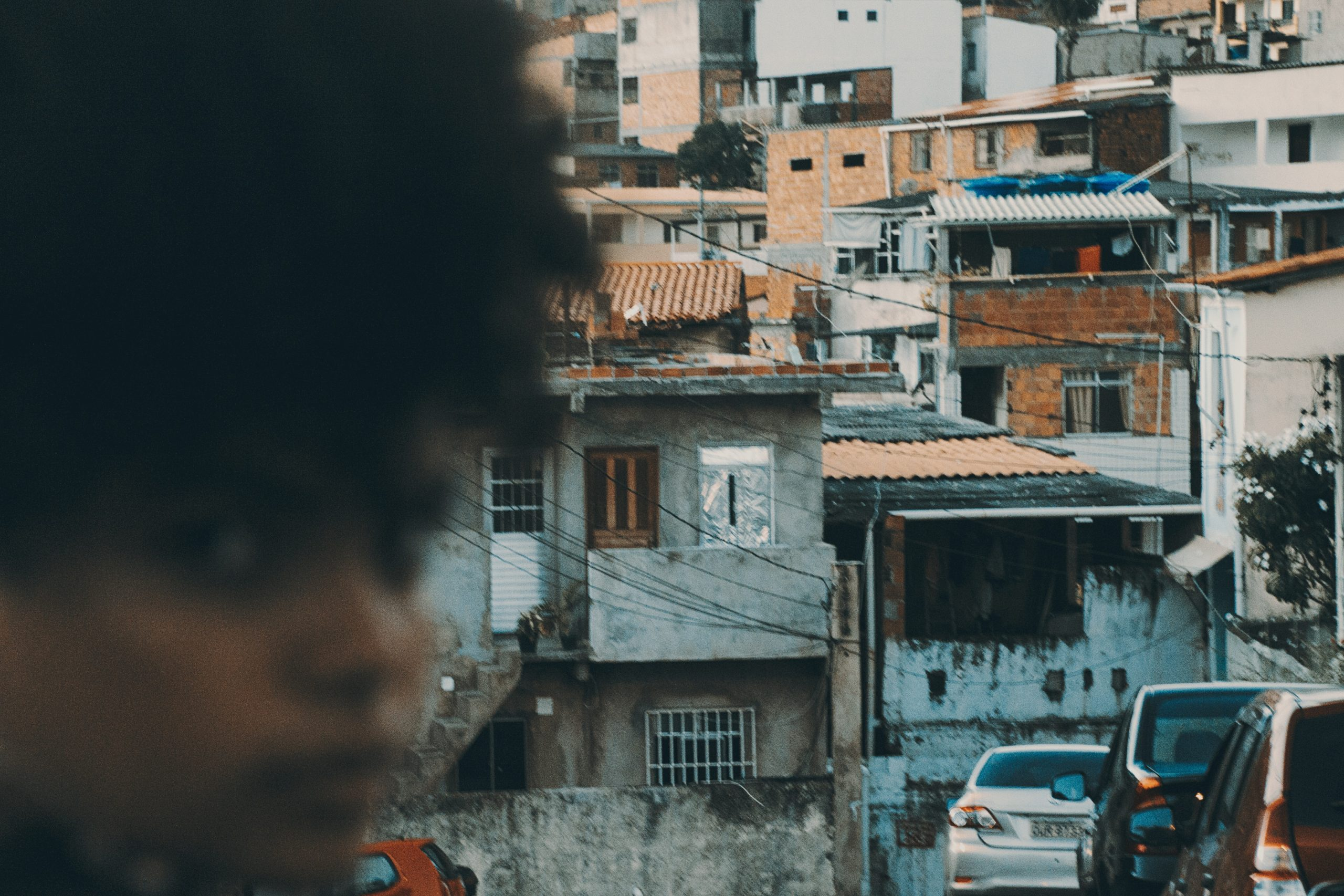Brazil woman in favela