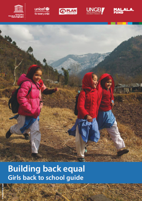 Building back equal- girls back to school guide