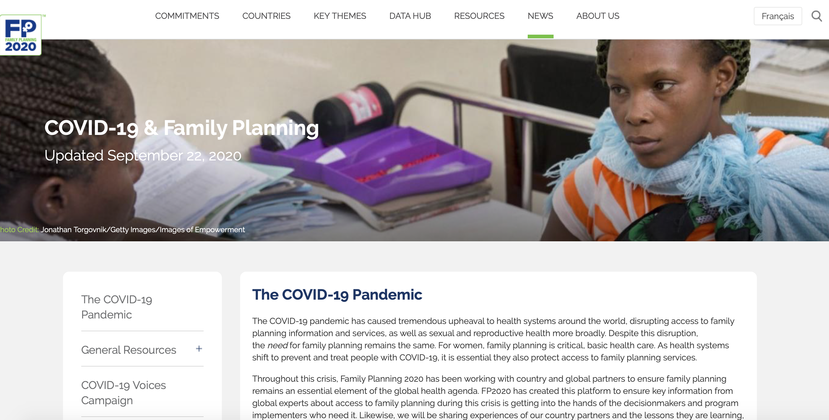 COVID-19 and family planning