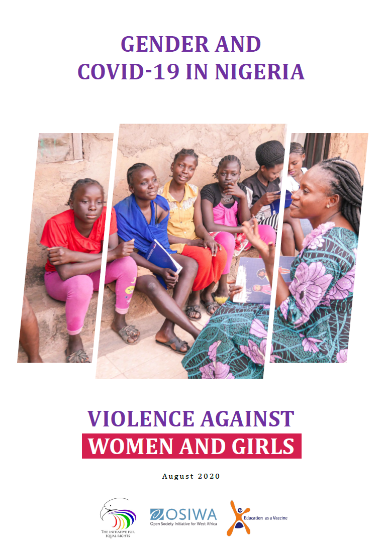 Gender and COVID-19 in Nigeria: Violence against women and girls