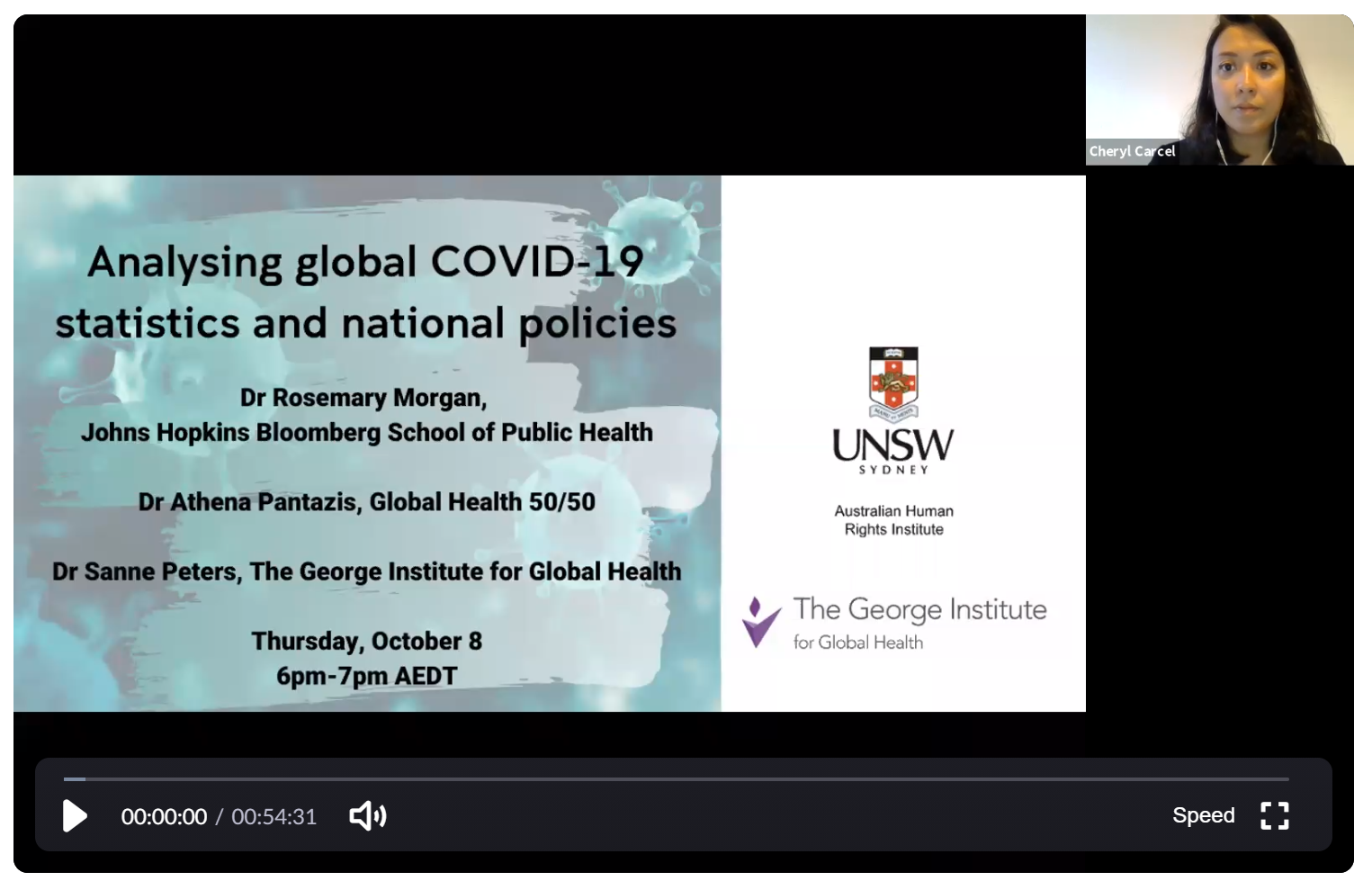 Analysing global COVID-19 statistics and national policies