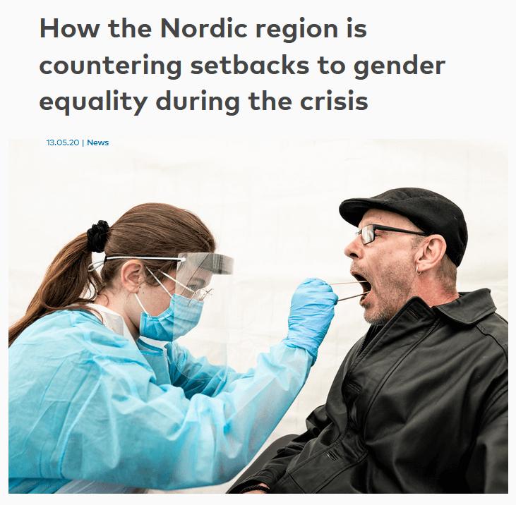 Nordic region gender equality