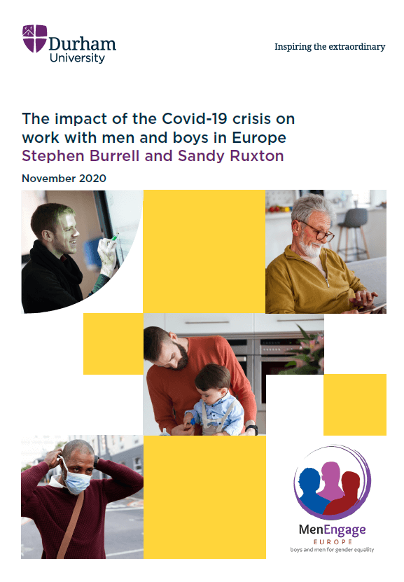 The impact of COVID-19 on work with men and boys in Europe