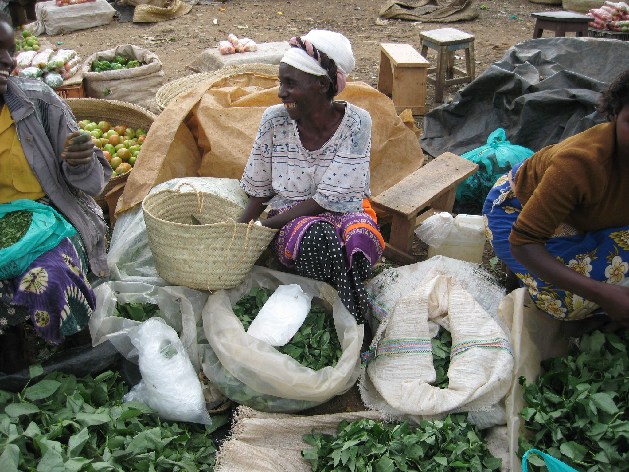 Women in the informal economy in Kenya