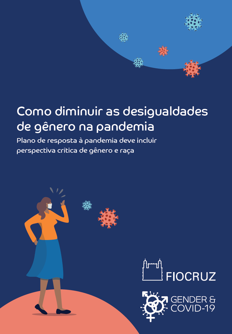 The pandemic response plan in Brazil must include a critical perspective on gender and race