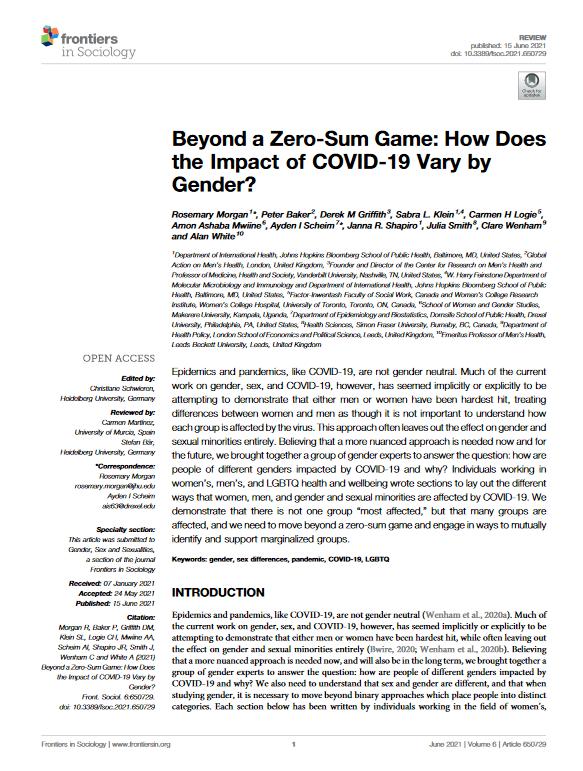 Beyond a Zero-Sum Game