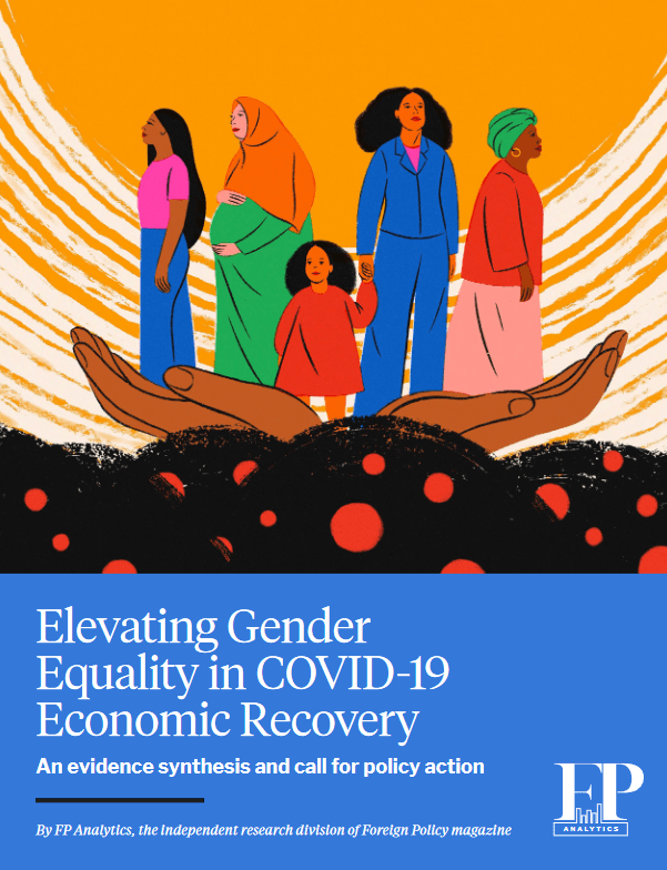 Elevating gender equality in COVID-19 economic recovery