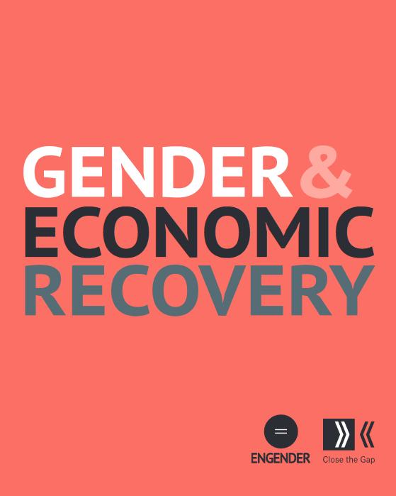 Gender economic recovery