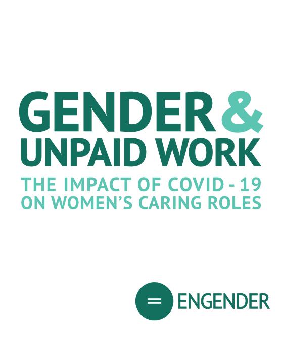 Gender unpaid work
