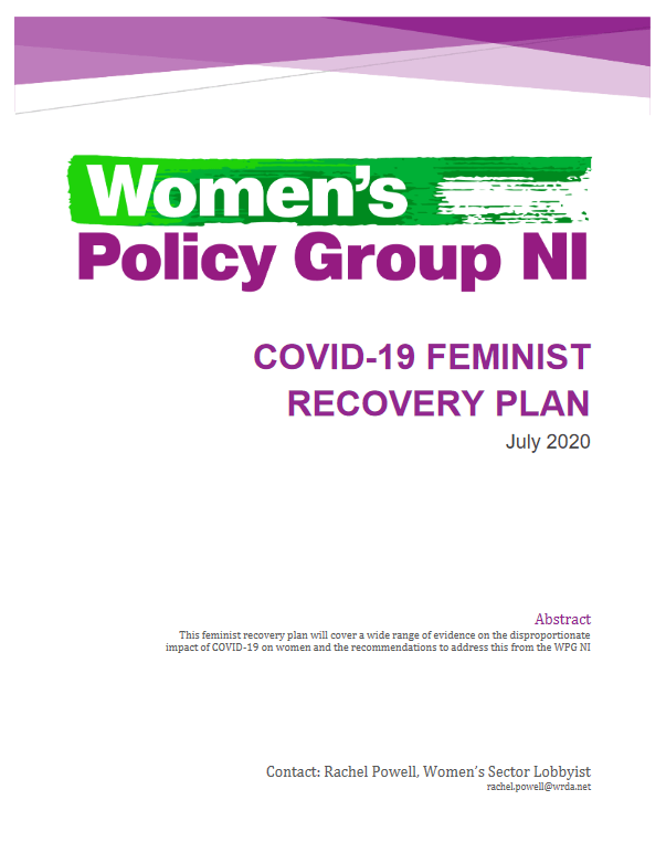 COVID-19 Feminist Recovery Plan