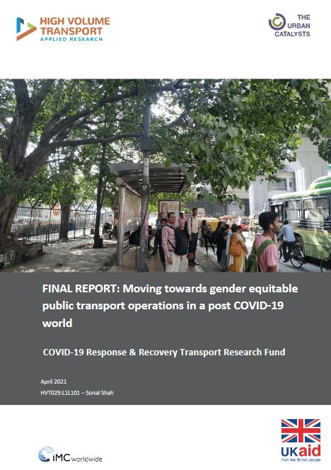 gender equitable public transport