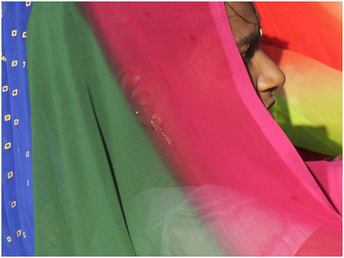 Veiled woman to illustrate forced marriage blog