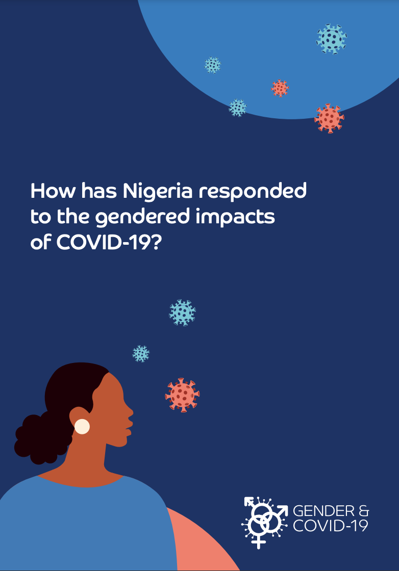 How has Nigeria responded to the gendered impacts of COVID-19?